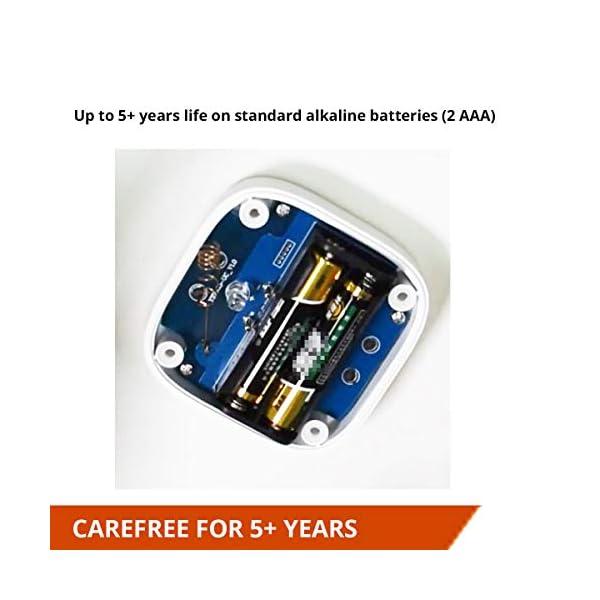 Smart Leak Sensors, YoLink 1/4 Mile World's Longest Range Wireless Smart Water Leak Sensor Compatible with Alexa and… 4