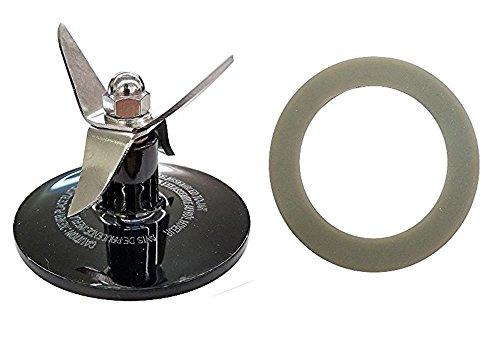 Blender Parts & Replacement Blender Blade Assembly for Cuisinart CBT-500, SB5600, CB600, Black + Gasket