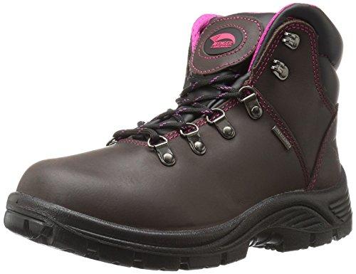 Calzature Antinfortunistiche Per Donna 7675 Soft Toe Waterproof Sr Eh Hiker Industrial E Construction Shoe Brown