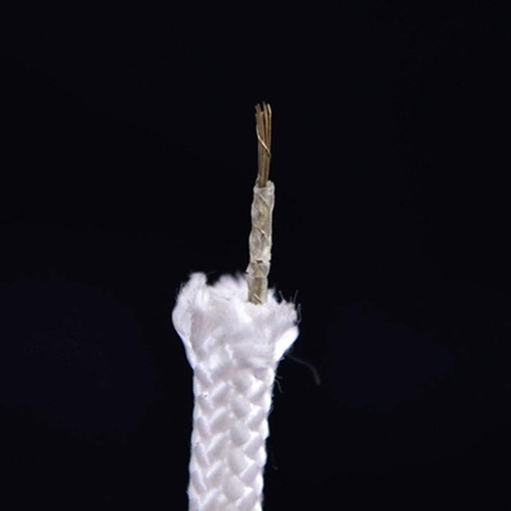 Seil Klettern Survival Rope Flammhemmendes Sicherheitsseil des Flammschutzseilhaushalts Notfluchtseilfeuerleine Notfluchtseilfeuerleine Notfluchtseilfeuerleine Selbsthilfe-Überlebensseil Haiming (Farbe   Weiß, größe   15m) B07Q569Z8C Einfachseile Geschwindigkeitsrückerstattung d59953