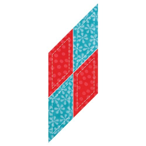 2 2 Die Shape X - Go! Fabric Cutting Dies-Parallelogram 2-1/4x2