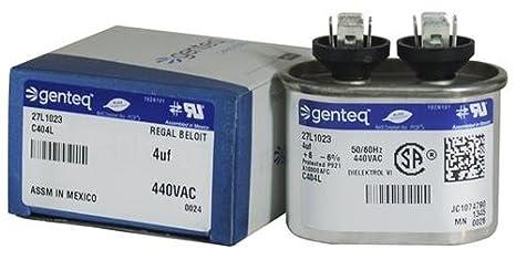 Carrier Bryant Capacitor 4 uf 440 volt P291-0404