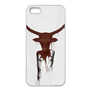 iPhone 5 5s Cell Phone Case White Taurus Ajdds
