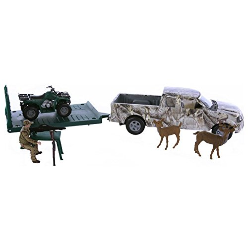 M F Western Products Bigtime Hunter Camo Truck Set