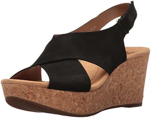 Clarks Women's Annadel Eirwyn Wedge Sandal