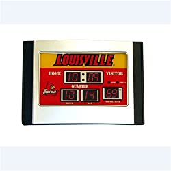 Louisville Cardinals NCAA Scoreboard Desk Clock (6.5x9)