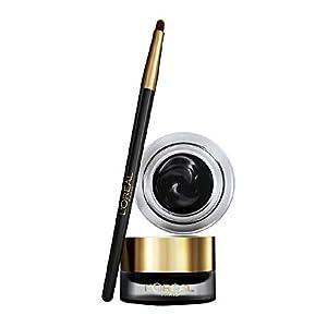 L'Oréal Paris – Super Liner Gel Intenza – Eyeliner Gel avec Pinceau – Waterproof – Couleur : Noir – 2,8 g