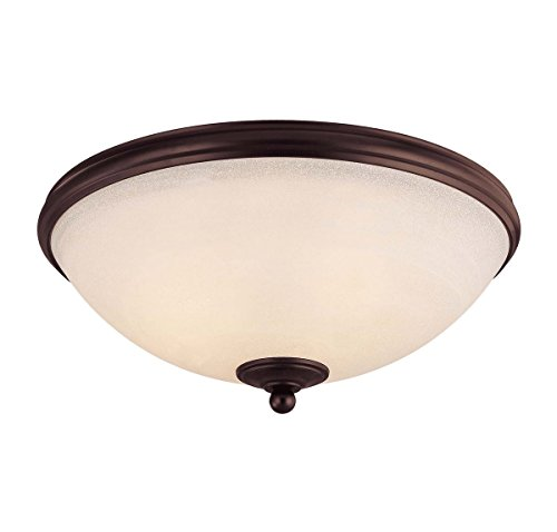 - Savoy House 6-5787-15-13 Willoughby 3-Light Flush Mount in English Bronze