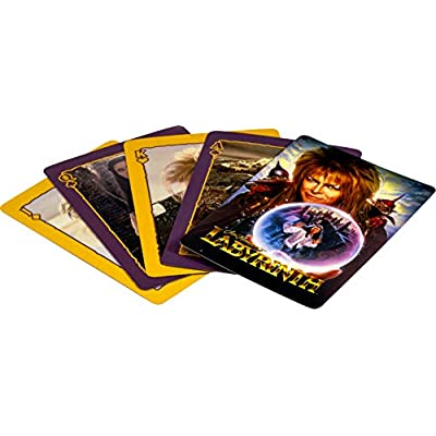 Aquarius Labyrinth Playing Cards: Toys & Games