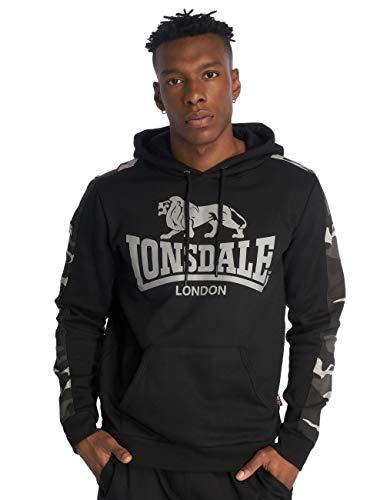 Con Santley Black Sudadera London Negro Capucha Lonsdale 1tUgxSq