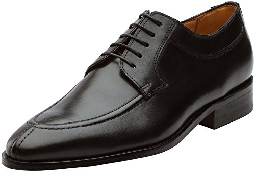 3DM Lifestyle Men's Classic Split Toe Oxford Lace Up Leather Lined Dress Oxfords Shoe - US 11-11.5 Black - Split Toe Oxfords