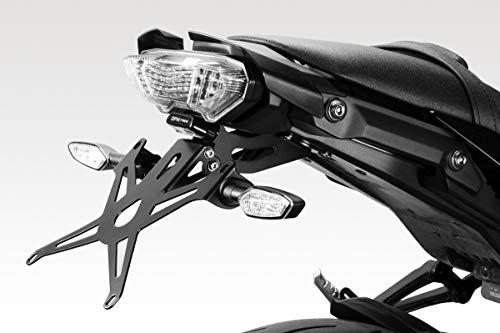 De Pretto Moto Accessories Easy to Install Yamaha MT07 FZ07 2018 - 100/% Made in Italy Matte Black DPM Kit Rear Hugger Aluminium Mudguard Fender
