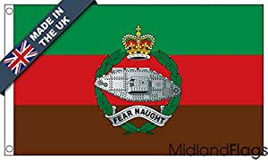 duraflag® Royal Regimiento de tanque bandera de calidad profesional (puerta y Cambiadas), 5ft x 3ft (152cm x 91cm)