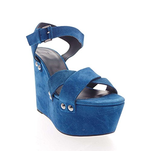 Vic's 8182 Sandal Women Blue PuHM84MaH2