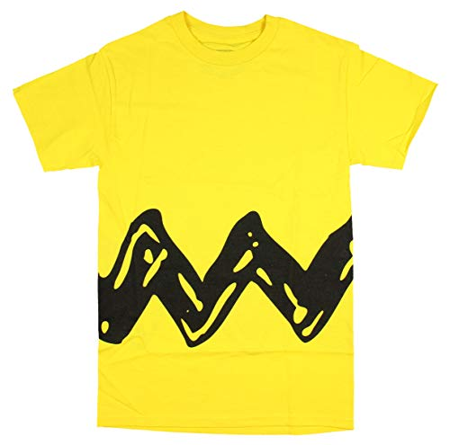 Peanuts Charlie Brown Double Sided Zig Zag Costume Shirt (Small) ()