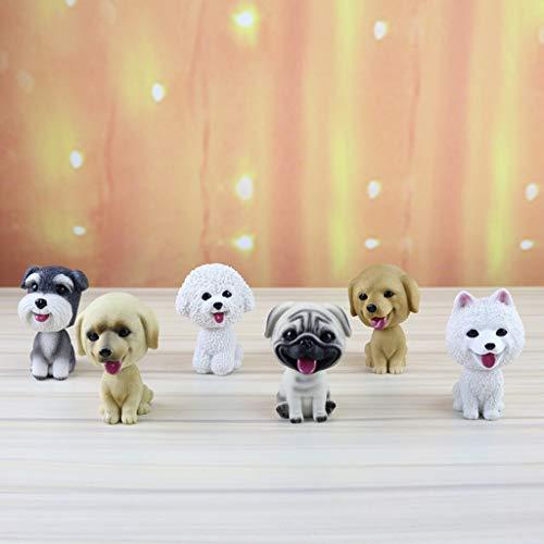 a31111ae5807 SHOPUS | Flameer Cute Bobbing Head Dog Puppy Bobble Head Auto Car ...