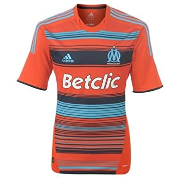 adidas Olympique Marseille 3rd Jersey Mens  Amazon.co.uk  Sports ... 023026d86