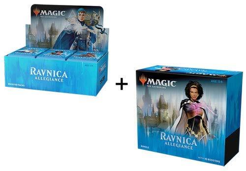 MTG Magic The Gathering Ravnica Allegiance Booster Box + Bundle!