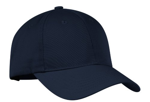 Port Authority Twill Cap - Port Authority Nylon Twill Performance Cap. C868 Navy OSFA