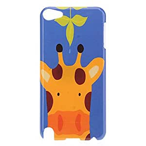 CL - Giraffe Pattern protector duro caso para el iPod Touch 5