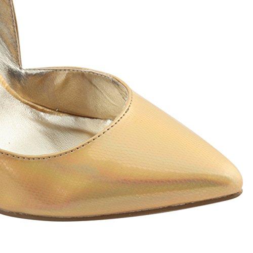 Dolcis - Zapatos de vestir para mujer Dorado - dorado