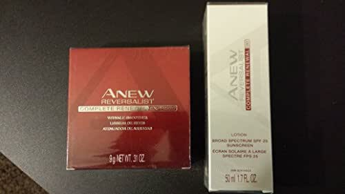 Avon Anew Reversalist Complete Renewal Express Wrinkle Smoother & Sunscreen-SPF-25