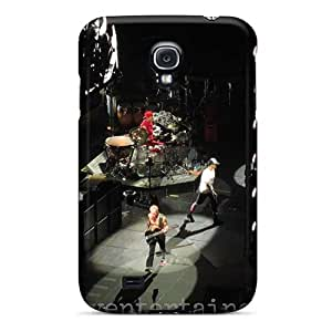 KellyLast Samsung Galaxy S4 Shock-Absorbing Hard Phone Cases Unique Design Vivid Red Hot Chili Peppers Skin [alu15859QRWY]