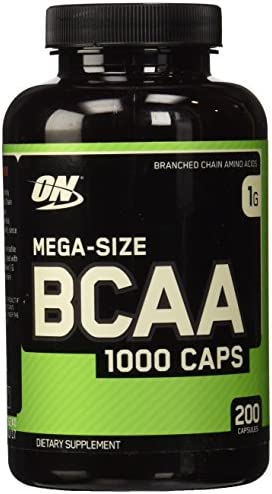 Optimum Nutrition BCAA 1000 Caps- 200 ct