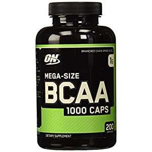 Optimum Nutrition BCAA 1000 Caps- 200 ct
