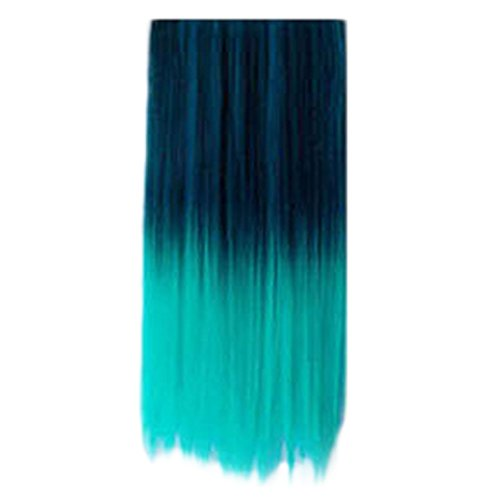Dip-dye Color Clip in Hair Extension For Fashion Women (C) ()