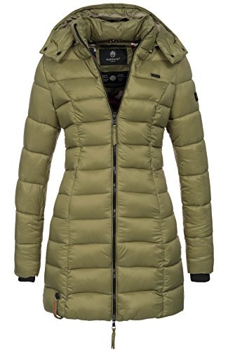 Lunghe Giacca Donna Basic Maniche Olive Marikoo nwYzqpCTw