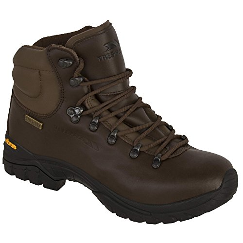 Boots Walker Trespass Walking Brown Mens Leather Waterproof vnnHxwPqX