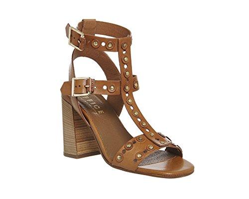 para de mujer Braun Unbekannt Zapatos vestir Tan Leather qtx7f5vwHU