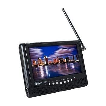 Digital Prism ATSC 710 7 Portable Handheld LCD TV With Built In ATSC NTSC Tuner Black