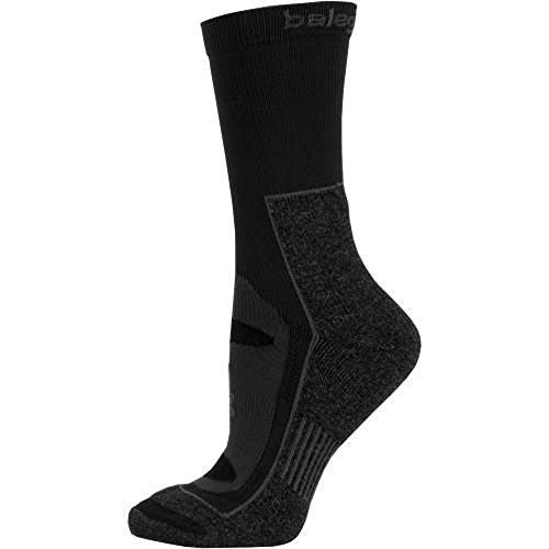 Balega Blister Resist Crew Socks for Men and Women (1 Pair), Black, X-Large