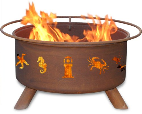 Cheap Patina Products F116,  30 Inch Atlantic Coast Fire Pit
