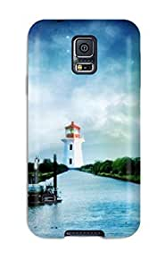 New Art Nature Desktop Tpu Case Cover, Anti-scratch Earl N Vines Phone Case For Galaxy S5