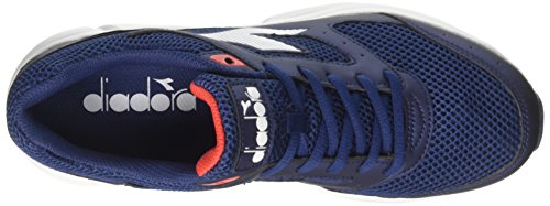 Shape Silver Shoes Diadora Blue Running 9 Blu Bianco Men U5BwR