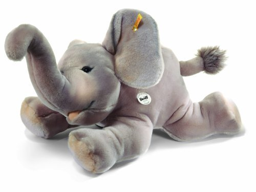 Steiff 55cm Trampili Elephant (Grey) by ()