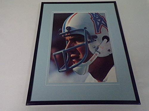 Dan Pastorini 1979 Houston Oilers Framed 11x14 Photo Display