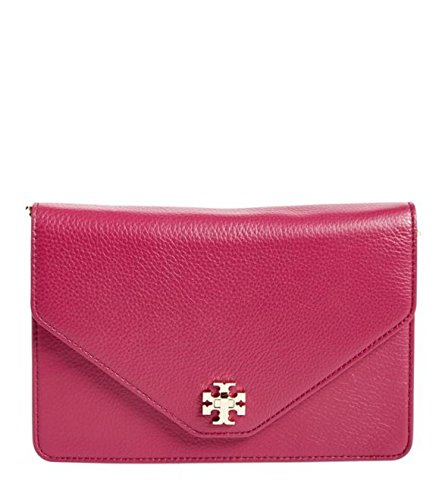 a4b63602a0 Tory Burch Kira Clutch in Raspberry: Handbags: Amazon.com