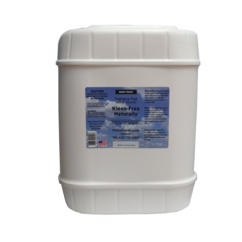 Kleen-Free Naturally Preformed Enzyme Cleaner (Unscented, 5-Gallon Ready-to-Use Pail)