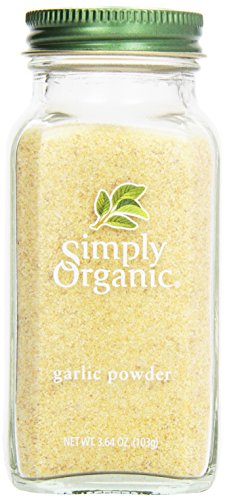 Simply Organic, Garlic Powder, 3.64 oz ()