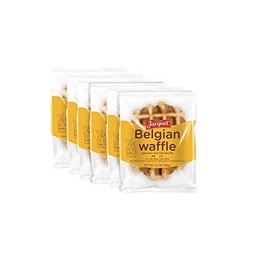 Jacquet Belgian Butter Waffles 3.5 oz (pack of 6)