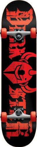 UPC 805538287899, Darkstar Ruin Complete Skateboard, Black, FUL7.6