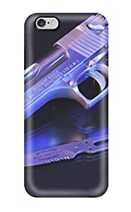For Iphone 6 Plus Protector Case Gun Phone Cover
