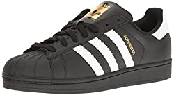 Adidas Originals Men's Superstar Foundation Casual Sneaker, Blackwhiteblack, 11.5 D(m) Us