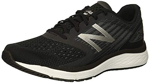 New Balance Boys' 860v9 Running Shoe Black/Laser Blue 12 XW US Little - Boys Trainers Running