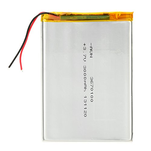 Tablet Pc Rechargeable Battery (IDS Home Replacement 3.7V 3000mAh Rechargeable Polymer Lithium Battery for 7~10