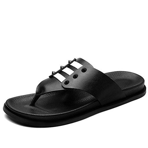 Pantofole E HUAHUA da Estate Casual Scarpe Color Fresca Escursioni da La Parola Uomo Moda Estate Trascinare Usura Uomo Sandali 1 Fresco Scarpe PUFqP